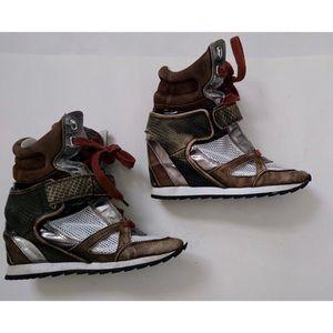 Rachel zoe hidden heel sneakers sz 7.5 GUC